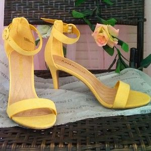 Shoes - Yellow Sexy Heels